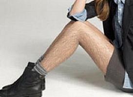 нравятся волосатые ноги